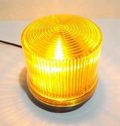 Sinalizador LED Piscante Amarelo