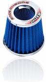 Filtro Ar Esportivo Race Chrome Master Filter Rc051 Azul - Cód.RR017
