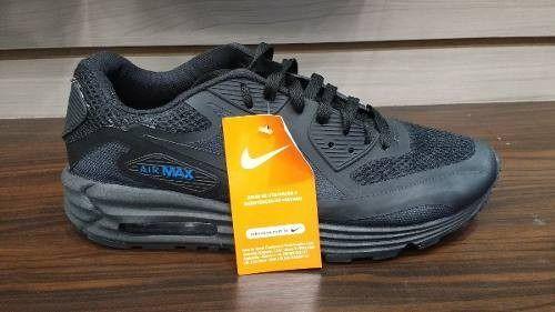 858587dce Tênis Nike Air Max 90 Preto - Outlet Ser Chic