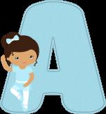 Alfabeto - Bailarina 3 - PNG