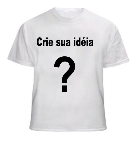39526e2d4 Camiseta Branca Personalizada 100% Poliéster - GRÁFICA NOVA BARÃO