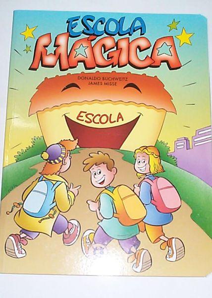 Livro Escola Magica  com desenhos da Barbie #497