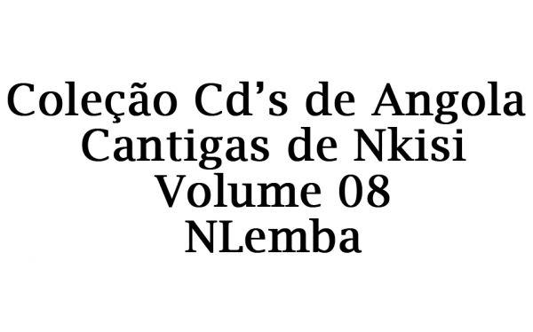 Cd 08 – Nlemba