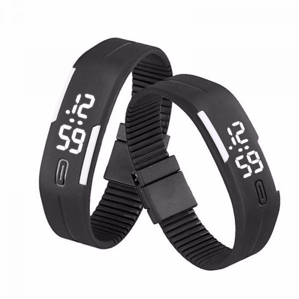 39a4f90085e Pulseira relógio esportivo casual pulseira lede esportivo