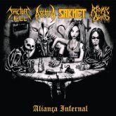 FACTOR KILL/ARMA / SAKHET / ATOMIC BOMB - Aliança Infernal – Split CD