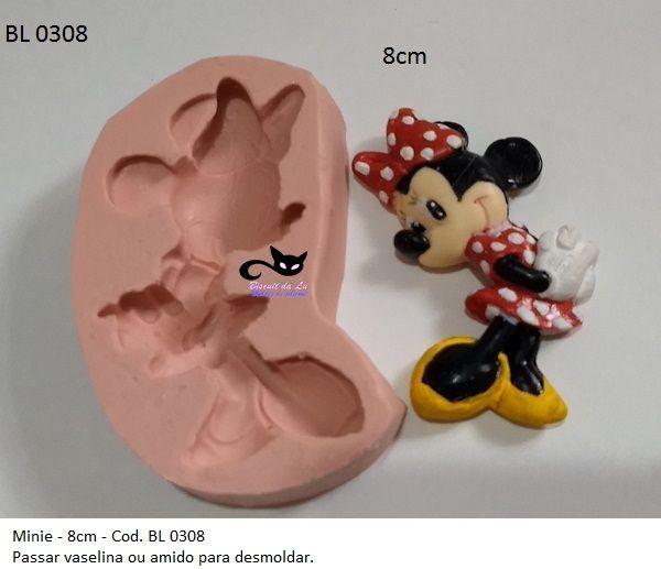 Minnie de corpo inteiro com 8cm