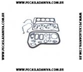 Jogo de Juntas Completo  do Motor  Niva 1.7  8V . S/ Retentores (Novo) Ref. 0657