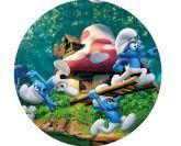 Papel Arroz Smurfs Redondo 005 1un