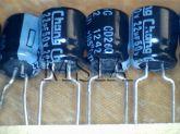 ELETROLÍTICO 22X50 105ºC 6,3X8mm CHANG 22ufx50V