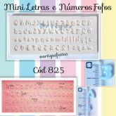 Mini Letras e  Números Fofos