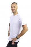 Camiseta Tradicional  Branca 100% Poliéster