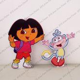 2 Displays de mesa - Dora Aventureira