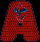 Alfabeto – Homem Aranha 3 – PNG