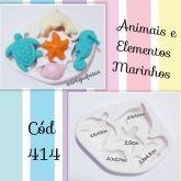 Animais e Elementos Marinhos