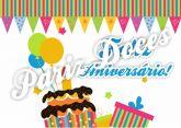 Papel Arroz Aniversário A4 003 1un