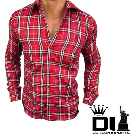 Camisa Burberry Masculina - ESTILO IMPORTADO-DERSON IMPORTS 645132461d119
