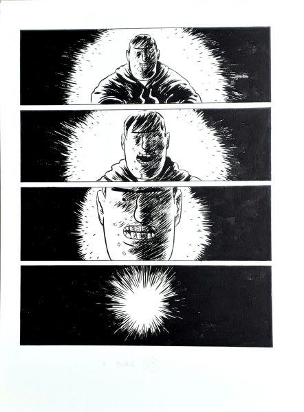Matadouro de unicórnios, arte original, pág 88 OBRA VENDIDA