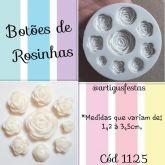 Botões de Rosinhas Cód 1125