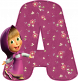 Alfabeto - Masha 1 - PNG