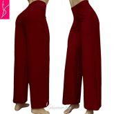 Pantalona vermelha(P-M-G),cintura alta, suplex 320/360