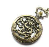 Relógio de Bolso Dragão Chinês