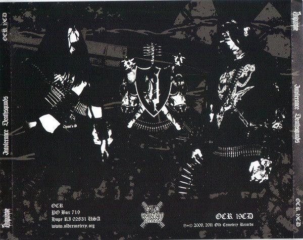AMPUTATOR - Intolerance Deathsquads - CD