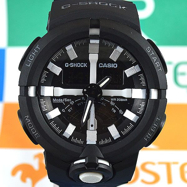 b4ccf8bdb57 Relógio Casio G-Shock GA-500 Preto Masculino à prova d´água + Caixa ...