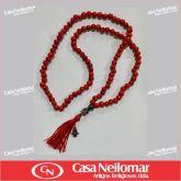 062026 - Terço Japamala Vermelho