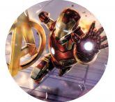 Papel Arroz Homem Homem de Ferro 007 1un