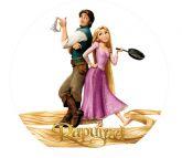 Papel Arroz Rapunzel Redondo 008 1un