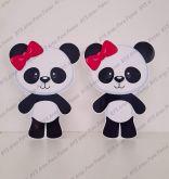 2 Displays de mesa - Panda