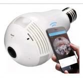 Camera Lampada 360 Ip Segurança Espia Wifi Homologado Anatel cod.002
