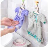 Toalha de Mão *Enfeite para Banheiro*