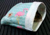 Alcofa PP Flamingos *frete grátis