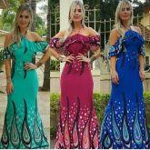 887b94761 Vestido Curto Moda Feminina Tancinha Babado