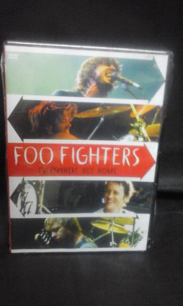 DVD - Foo Fighters - Everywhere But Home