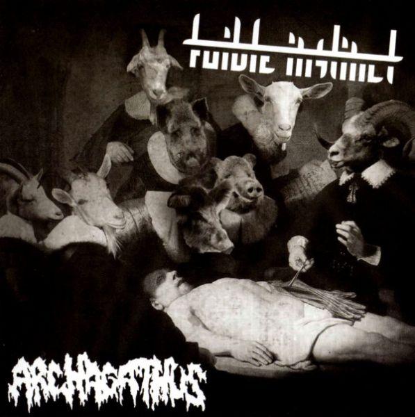 Archagathus & Foible Instinct – Split CD