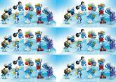 Papel Arroz Smurfs Faixa Lateral A4 010 1un
