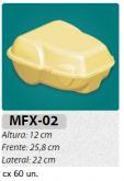 MFX-2 EMBALAGEM P/ FRANGO ASSADO GRANDE C/ 100 UN.