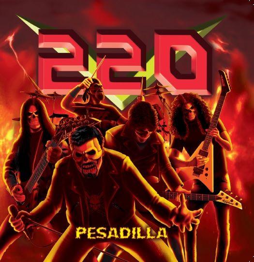220 VOLTIOS - Pesadilla (CD Duplo + SLIPCASE + Poster)