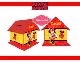 Enfeite de aniversario Minnie