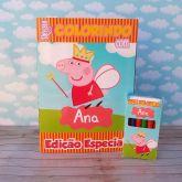 Kit para colorir Peppa Pig