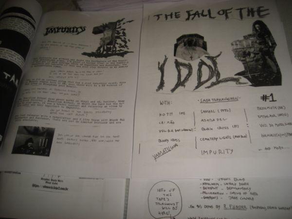 Fall of the Idol Zine - 1