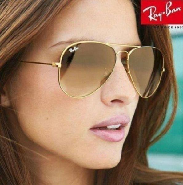 b490c27949297 ray ban aviator 3025 dourado azul  oculos style ray ban aviador 3026  dourado lentes marrom degrade