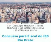APOSTILAS DE DIREITO E LEGISLAÇÃO TRIBUTÁRIA MUNICIPAL DE SÃO JOSÉ DO RIO PRETO