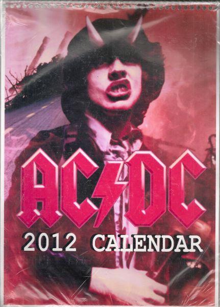 Calendário AC/DC - 2012