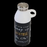 Garrafa Térmica de Inox com Copo Tipo Botija - 300 ml - Ekilibrium