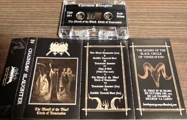 CHAINSAW SLAUGHTER - Monks of the Black Circle of Veneration - CASSETE
