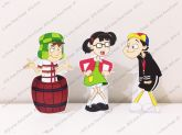 3 Displays de mesa - Chaves