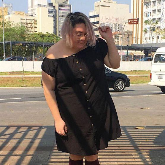 Vestido Botões